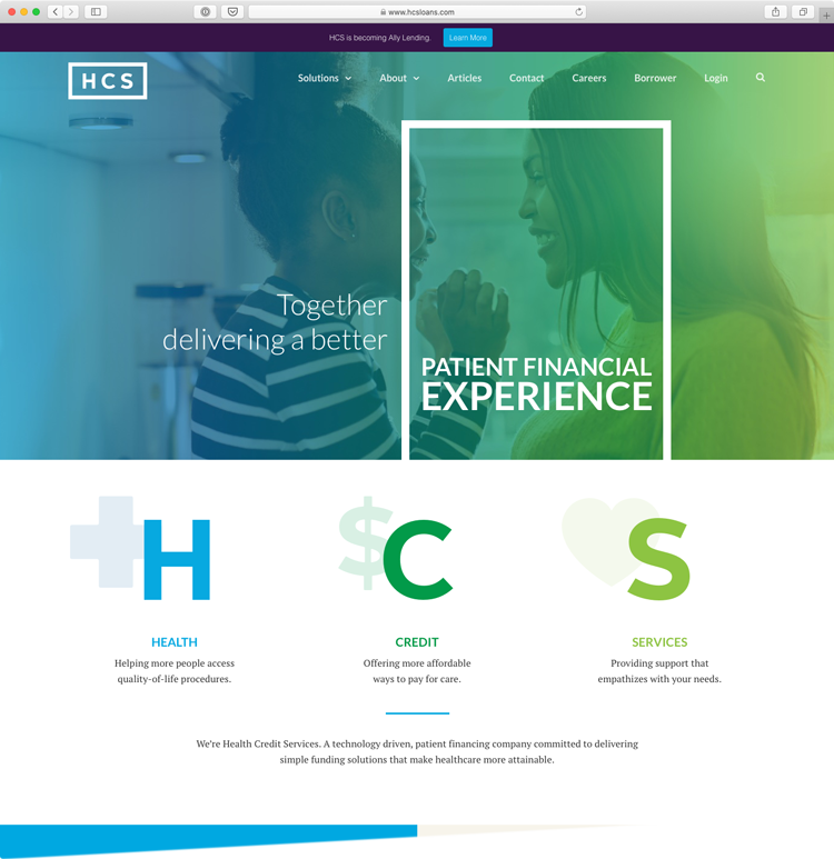 HCS Website Design